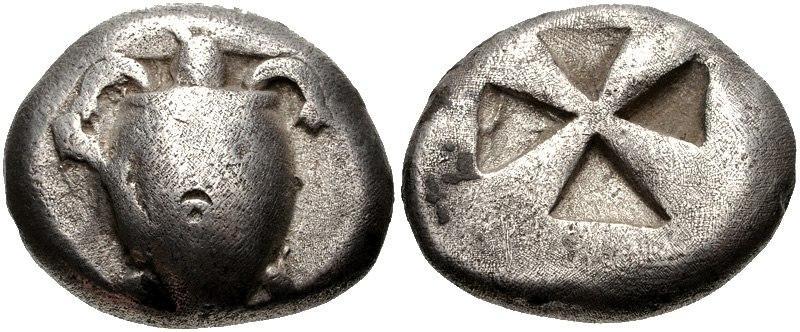 ISLANDS off ATTICA, Aegina. Circa 510-490 BC