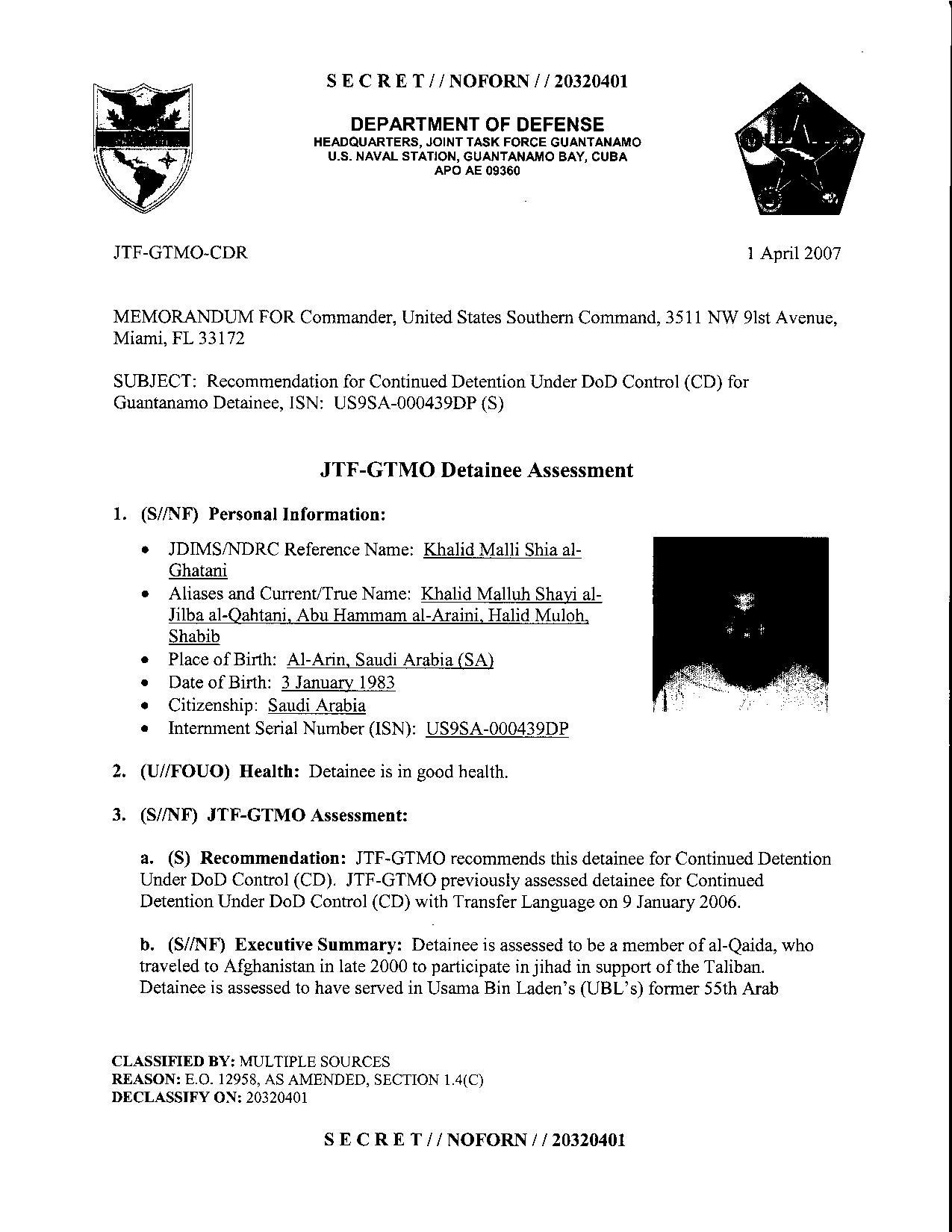 ISN 439's Guantanamo detainee assessment.pdf