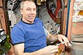 ISS-56 Drew Feustel conducts research inside the Unity module.jpg