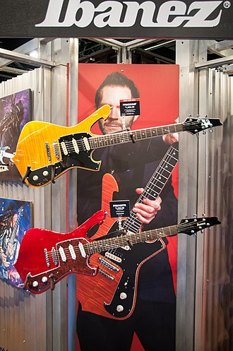Ibanez Iceman - Fireman models from 2014 NAMM Show
