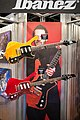 Ibanez Fireman FRM250MF Paul Gilbert Signature 25th Anniversary model, FRM100TR Paul Gilbert Signature electric guitar - 2014 NAMM Show.jpg