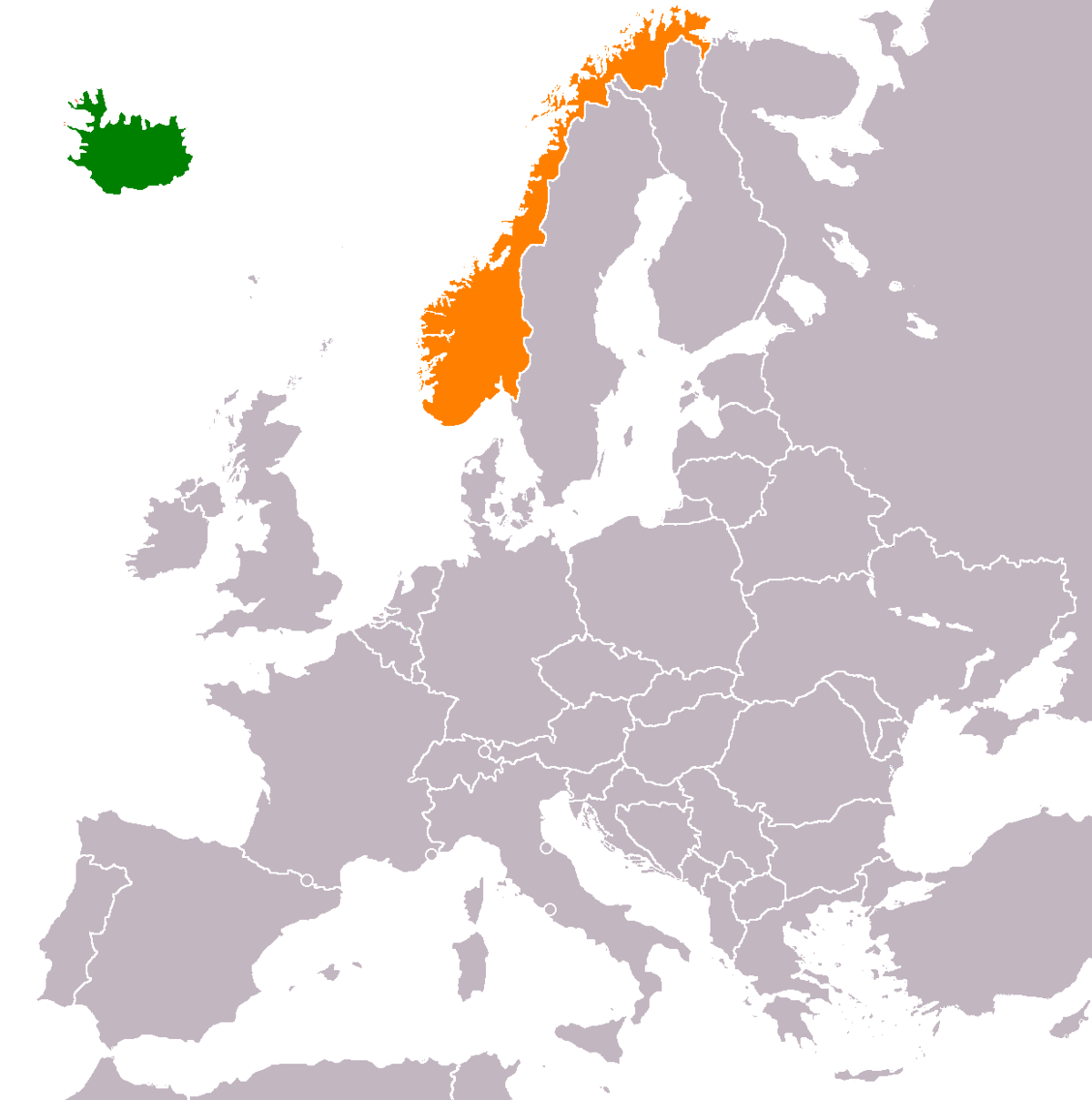 Icelandnorway relations wikipedia gumiabroncs Images
