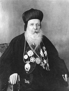 Ignatius Aphrem I Barsoum 120th Syriac Orthodox Patriarch of Antioch