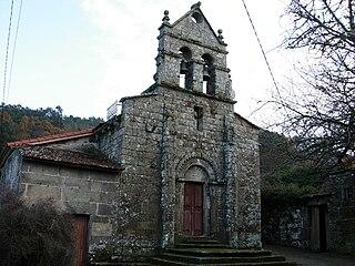 Igrexa de San Fiz do Varón, comarca do Carballiño