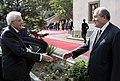 Il Presidente della Repubblica Sergio Mattarella con il Presidente della Repubblica d'Armenia, Armen Sarkissian 05.jpg