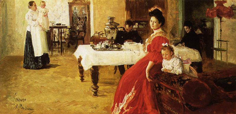 File:Ilya Efimovich Repin Family Portrait 1905.jpg