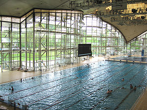 English: Olympic Pool in Munich Español: Esest...
