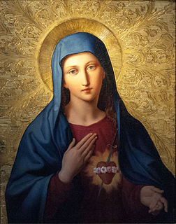 Immaculate Heart of Mary Catholic devotional title of Mary