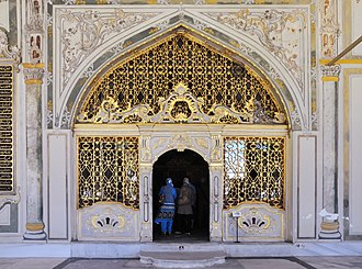 Imperial Council (Ottoman Empire) - The gate of the Imperial Council chamber at the Topkapi Palace, Istanbul