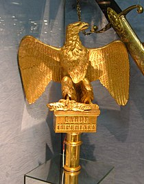 Imperial Guard Eagle, Louvre des Antiquaires.JPG