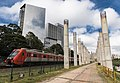 Início de obras Estação de Integração Morumbi - Monotrilho - Linha 9 CPTM (Marginal Pinheiros) (40300992221).jpg