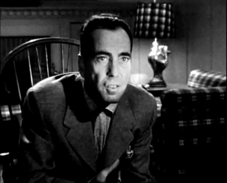 In a Lonely Place - Bogart as Dixon Steele