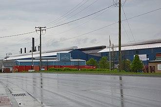 Farrell, Pennsylvania - Mill on Pennsylvania Routes 718/760