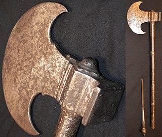 Asian type of battle axe
