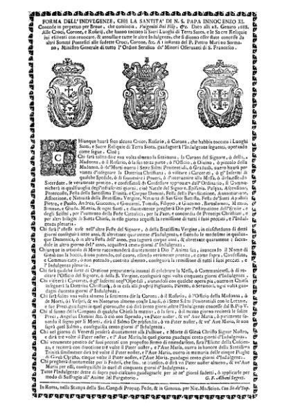 File:Indulgenze a croci, corone e rosari (Innocenzo XI).djvu