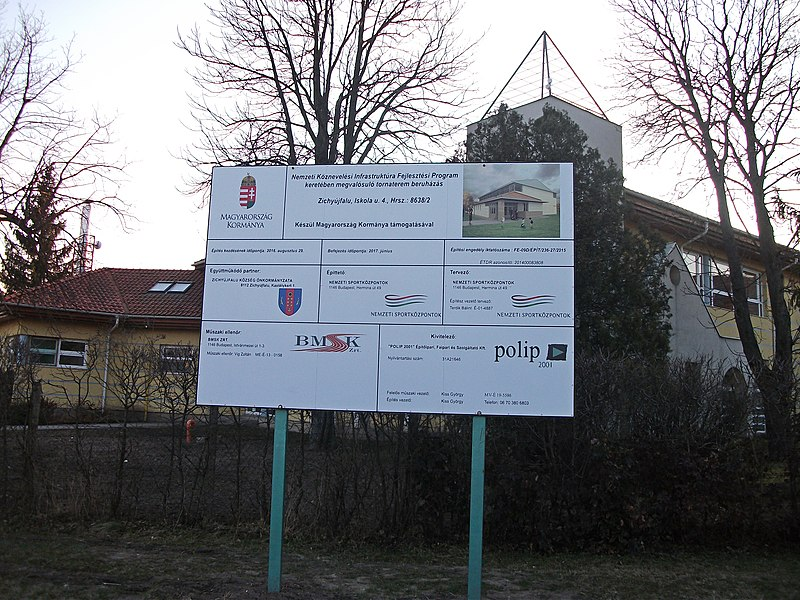 File:Information board, Zichyújfalu 001.jpg