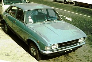 Austin Allegro - The Allegro was assembled by Innocenti in Italy where it was badged as the Innocenti Regent.