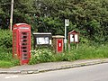 Integrated village communications, post, phone, bus and notice board - geograph.org.uk - 839357.jpg