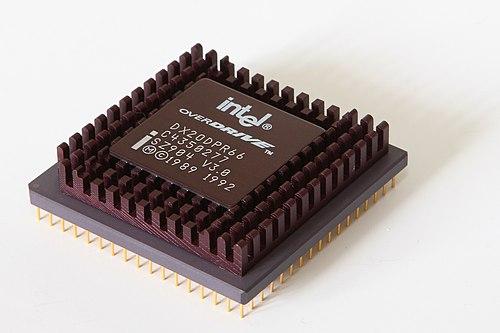 Intel 80486 OverDrive - Wikiwand