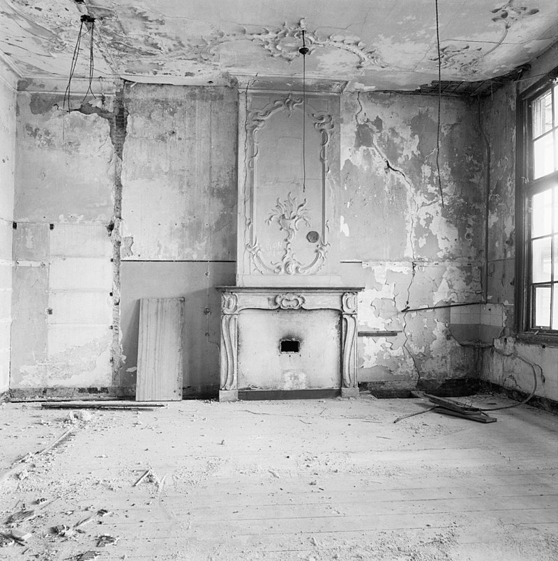 interieur schouw rechter voorkamer 1e verdieping gouda 20081627 rce