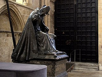 Edward King (bishop of Lincoln) - Memorial to Edward King by William Blake Richmond in Lincoln Cathedral