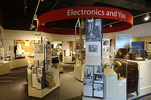 Linthicum, Maryland - Interior of the National Electronics Museum