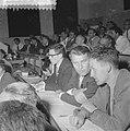 Internationale Ruimtevaartcongres (Amsterdam) Werner von Braun, Bestanddeelnr 909-8082.jpg