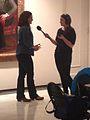 Interview by BBC WomenInArts2014.jpg