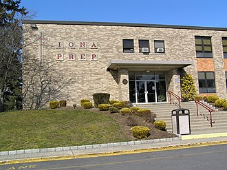 Iona Preparatory School - Main entrance to the Iona Prep Upper School