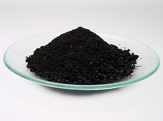 Ferrous - Ferrous oxide is more correctly called iron(II) oxide.