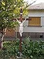 Iron crucifix. - Római street, Ófalu, Érd.JPG