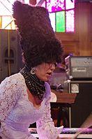 Iryna Kovalenko (DakhaBrakha) (Haldern Pop 2013) IMGP6617 smial wp.jpg