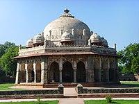 Isa Khan Niyazi's mausoleum, within Humayun's Tomb complex, Delhi.jpg