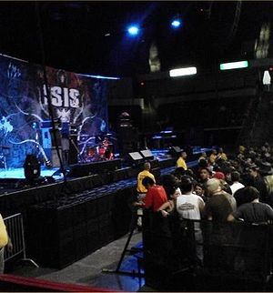 Isis (band) - An Isis stage during the tour of Panopticon.