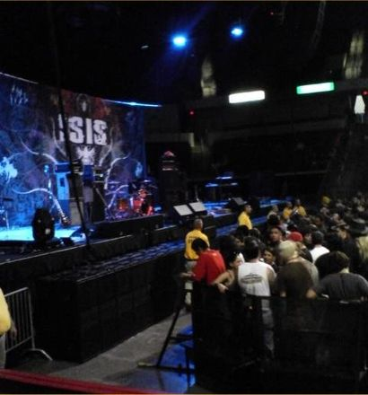 An Isis stage during the tour of Panopticon. Isis band.jpg