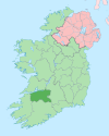 Island of Ireland location map Limerick.svg