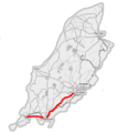 Isle of Man A5 road (OpenStreetMap).png