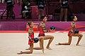 Israel Rhythmic gymnastics at the 2012 Summer Olympics (7915338706).jpg