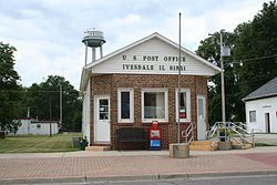 Post Office and Water Tower