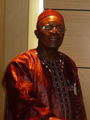 Vice-President of Sierra Leone - Image: J. B. Dauda 2011 05 11 2
