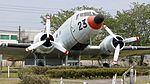 JMSDF R4D-6Q(9023) front fuselage right front view at Kanoya Naval Air Base Museum April 29, 2017.jpg