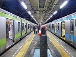 JRE Hamamatsucho Station platform 20141228.jpg