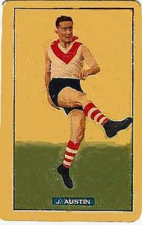 Jack Austin (footballer) Australian rules footballer