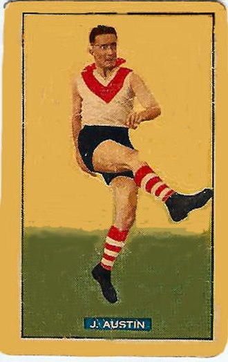 Jack Austin (footballer) - Image: Jackaustin card
