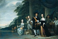 Jacob Coeman Portrait of Pieter Cnoll and his familie 1665.jpg