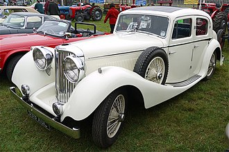 Jaguar Mark IV - SS Jaguar sports saloon 1936