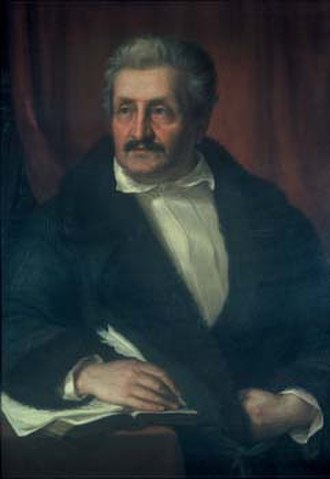 Jakob Philipp Fallmerayer - Portrait of Fallmerayer, in the Bavarian Academy of Sciences and Humanities.
