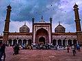 Jama masjid with clouds.jpg