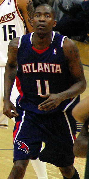 Sixth man - Jamal Crawford was named NBA Sixth Man of the Year in 2010, 2014, and 2016 while playing for the Atlanta Hawks and Los Angeles Clippers respectively.