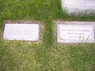 James E. Talmage - Image: James E Talmage Headstone